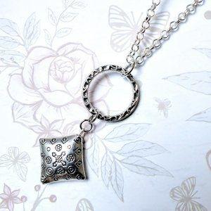 Simple Elegant Silver Necklace